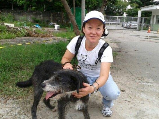 Miguelito e Anne Watanabe